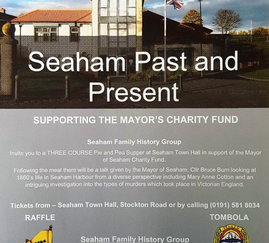 Seaham Family History Group March '16